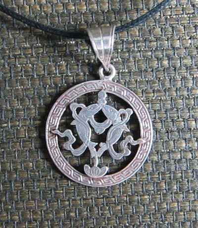 Jewelry,Tibetan Style,Under 35 Dollars Default Fish Circle Pendant jp083