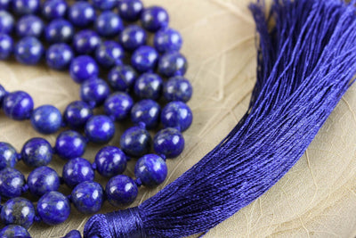 Mala Beads 108 Bead Lapis Intuition Mala ML520