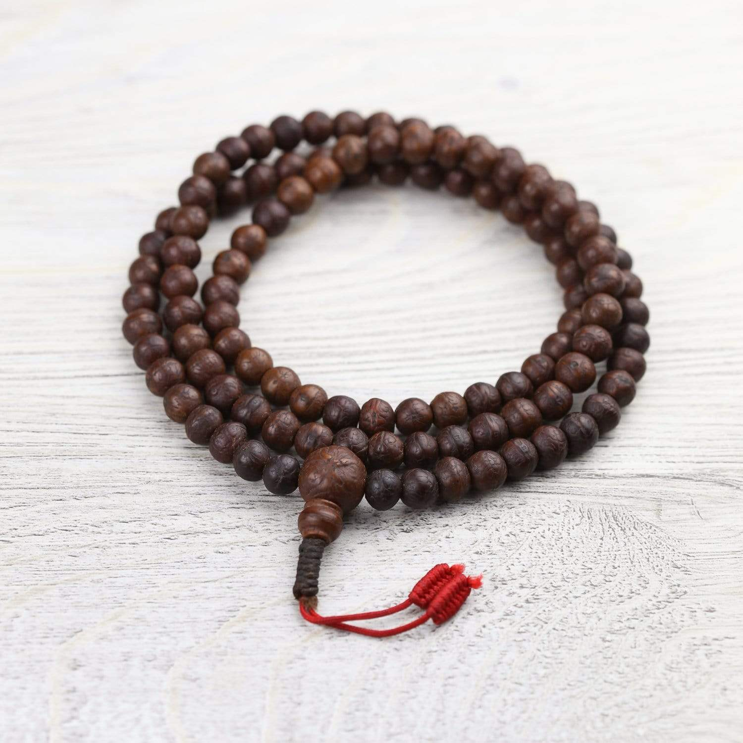 Mala Beads Antique Bodhi Compassion Mala