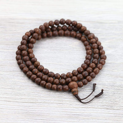 Mala Beads Antique Bodhi Mala from Boudhanath ML748