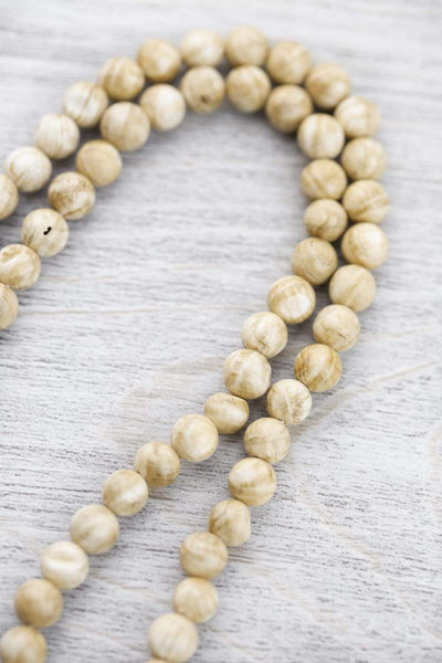 Mala Beads Beautiful 108 Bead Naga Shell Mala ML571