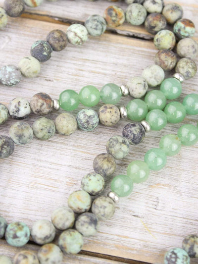 Mala Beads Blissful Inspiration Mala Necklace ML553