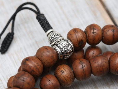Mala Beads Bodhi and Naga Spirit Mala ML626