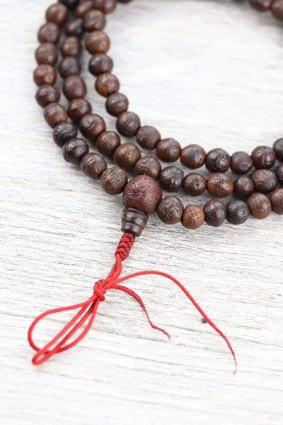 Mala Beads Boudha Prosperity Antique Bodhi Mala ML749