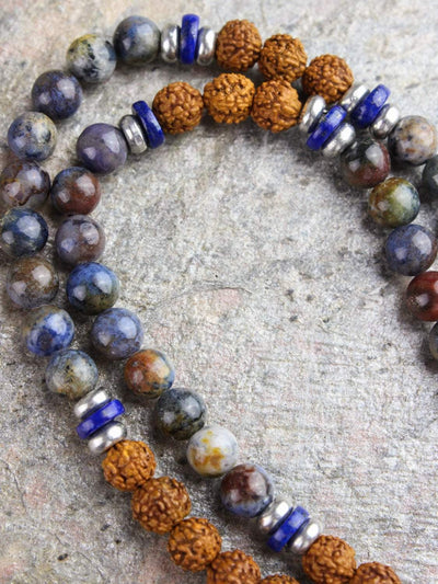 Mala Beads Clarity and Enlightenment Mala ML559