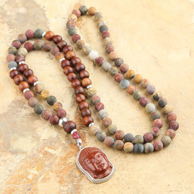 Mala Beads Confidence and Determination Mala ML551