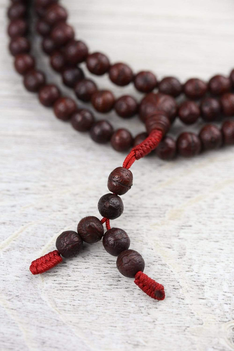 Mala Beads Deep Concentration Antique Bodhi Mala