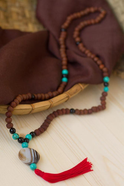 Mala Beads Default 108 Bead Raktu Seed Mala ML401