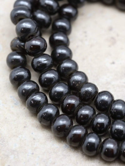 Mala Beads Default Dark Bone Mala ml009