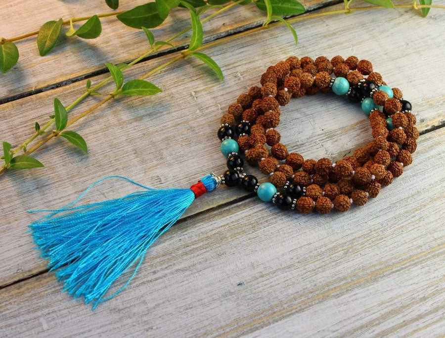 Mala Beads Default Foundation of Bliss Natural Tibetan Mala ml449
