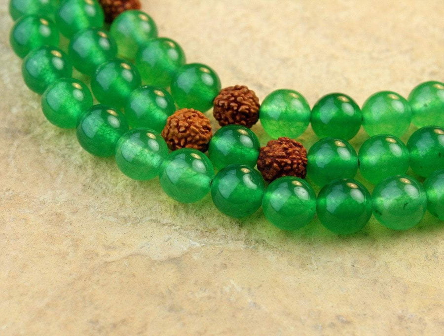Mala Beads Default Peace and Serenity Jade Mala ML487