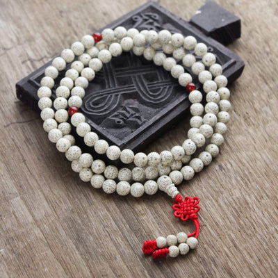 Mala Beads Default Spiritual Lotus Seed Mala ml003