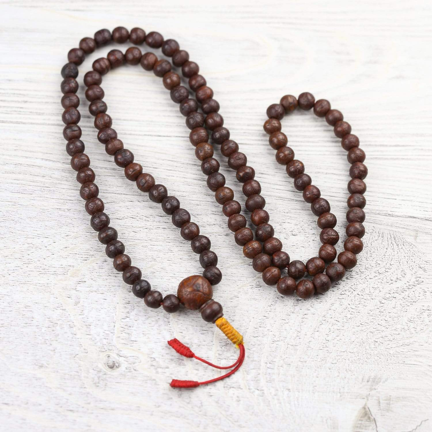 Mala Beads Dharma Teachings Antique Bodhi Mala