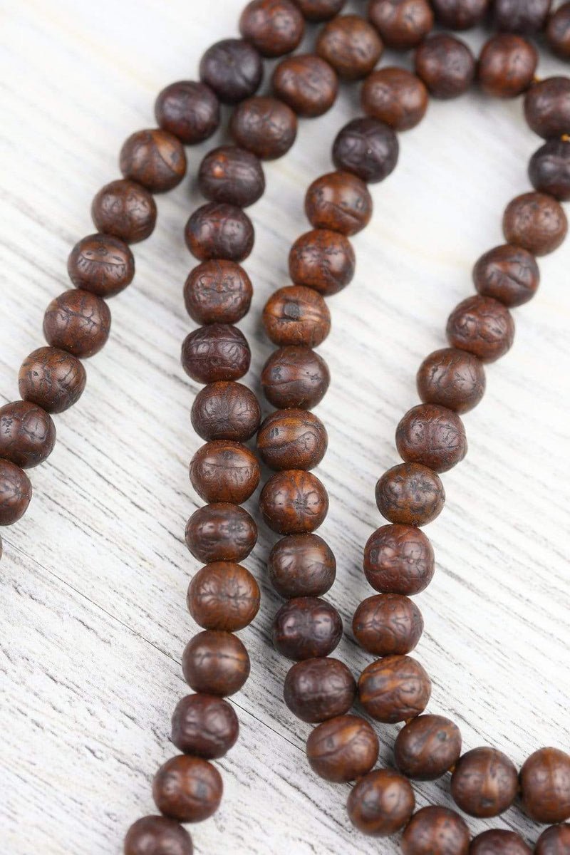 Mala Beads Energizing Antique Bodhi Seed Mala ML802