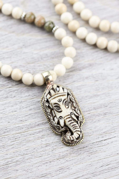Mala Beads Ganesh New Beginnings Mala ML729