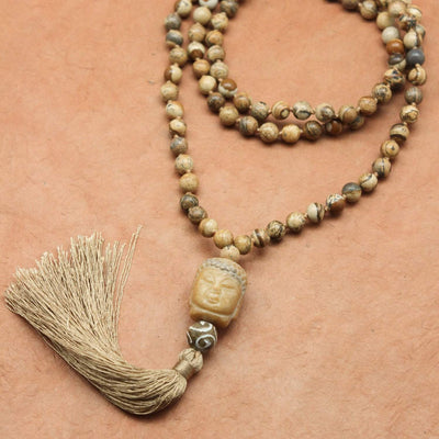 Mala Beads Grounding Earth Energy Mala ML606