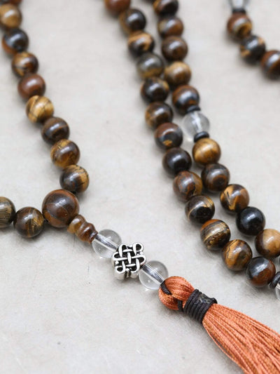 Mala Beads Grounding Tiger Eye Energy Mala ML640