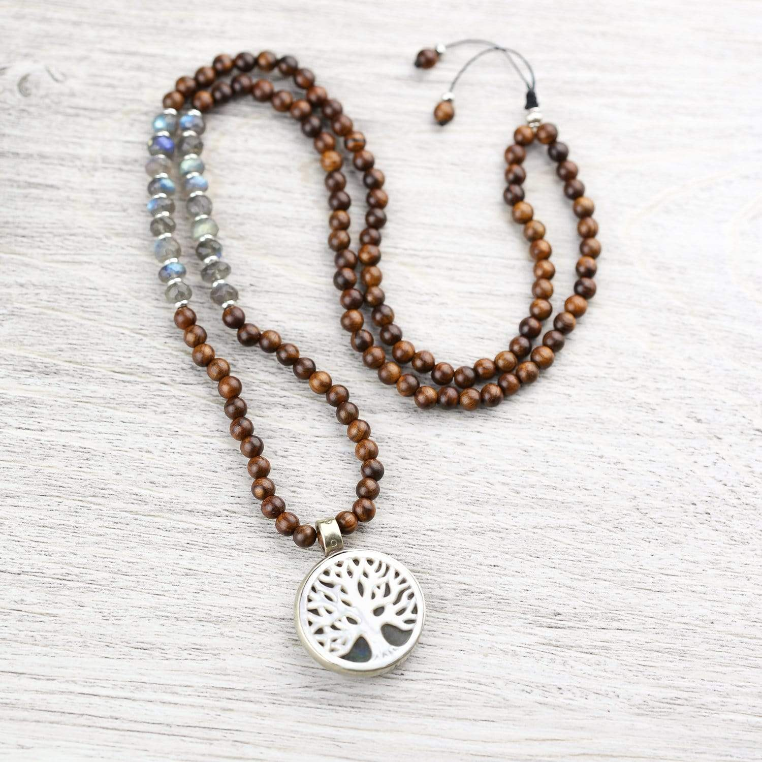 Mala Beads Healing Tree of Life Mala ML762