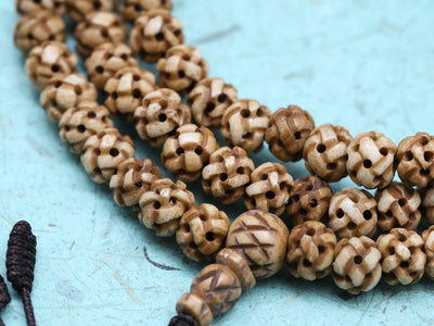 Mala Beads Himalayan Bone Bead Mala ML622