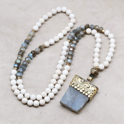 Mala Beads Labradorite Intuition Mala ML693