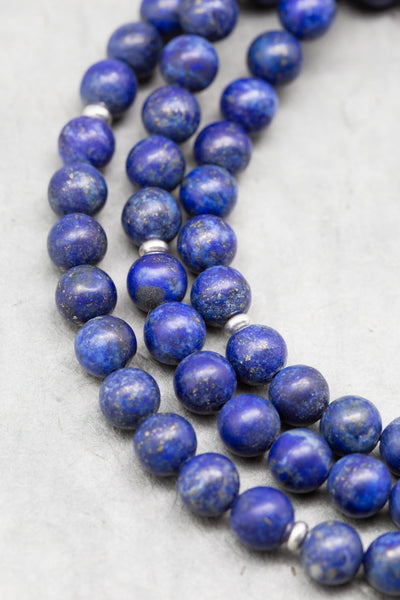 Mala Beads Lapis Enlightenment Mala ML660