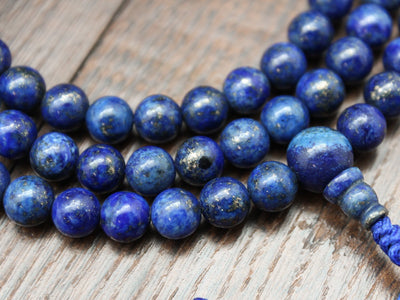 Mala Beads Lapis Intuition 108 Bead Mala ML603