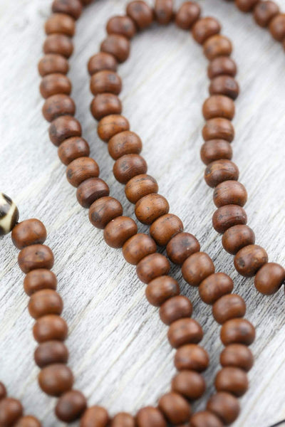 Mala Beads Miracle Bodhi and Dzi Mala ML750