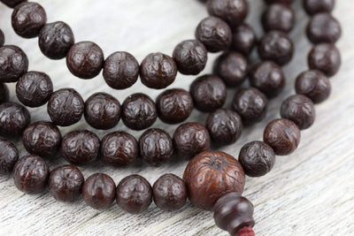 Mala Beads Monks Around Boudha Antique Bodhi Mala ML746