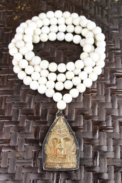 Mala Beads One of a Kind Tranquil Transcendence Mala ML513
