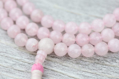 Mala Beads Rose Quartz Happiness Mala ML678