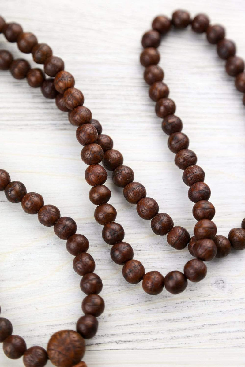 Mala Beads Sacred Wisdom Antique Bodhi Mala ML819