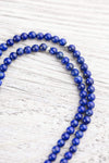 Mala Beads Spiritual Lapis Double Mala ML755