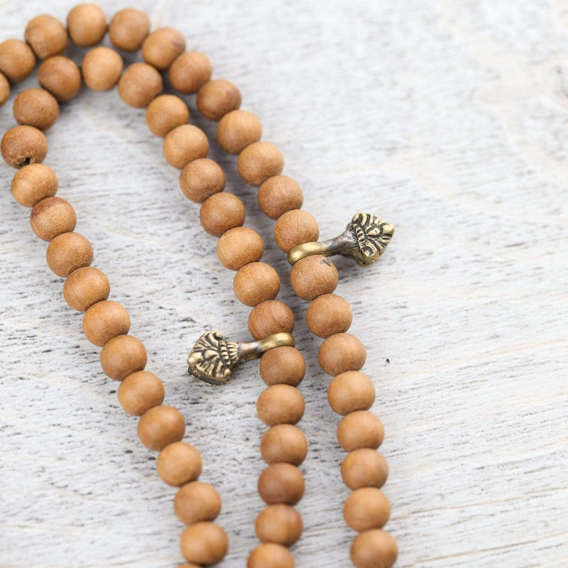Mala Beads Traditional Floral Mala Counters ML781
