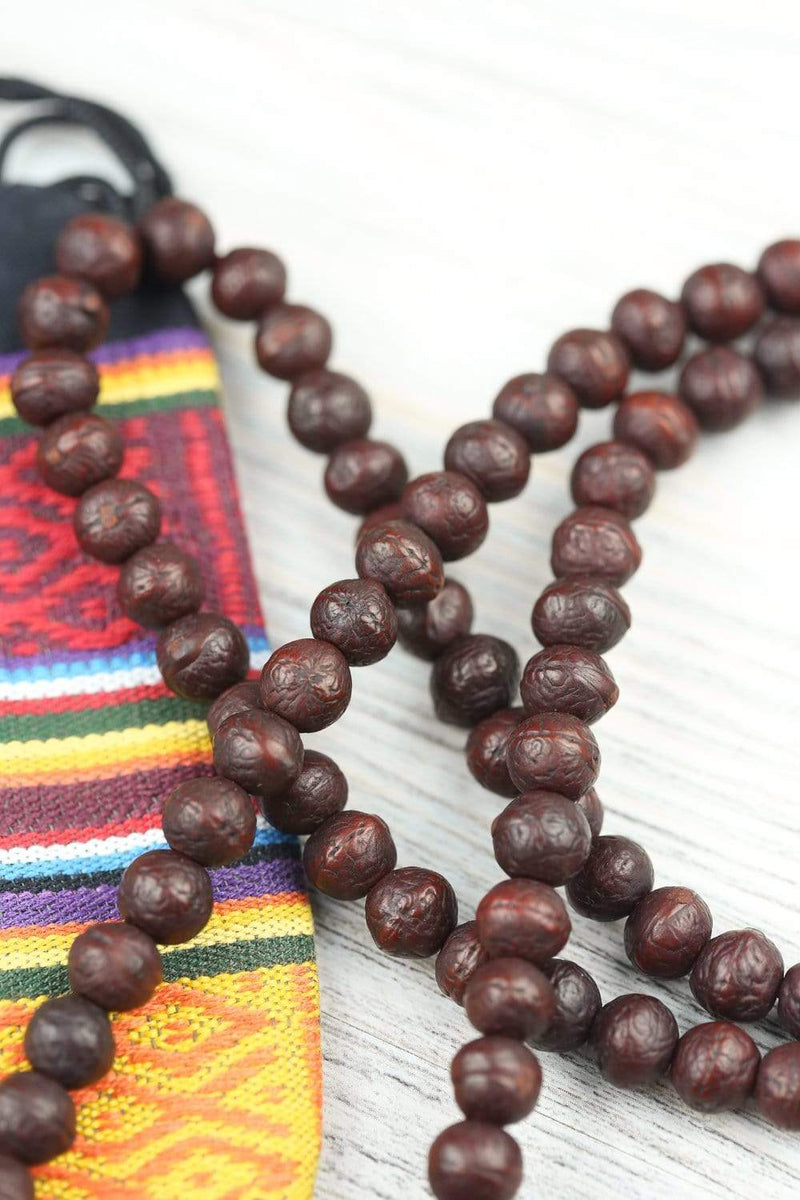 Mala Beads Traditional Tibetan Antique Bodhi Mala