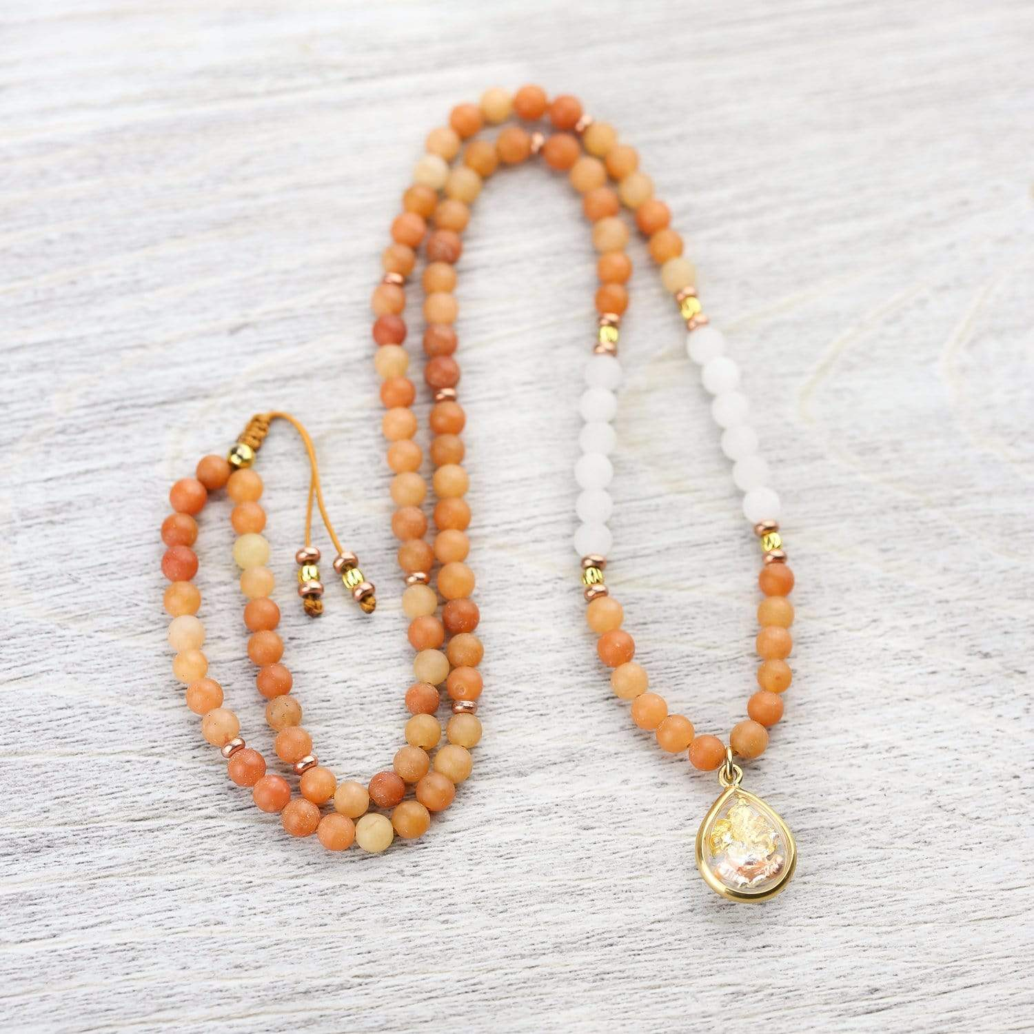 Mala Beads Uplifting Thai Ganesh Mala ML763