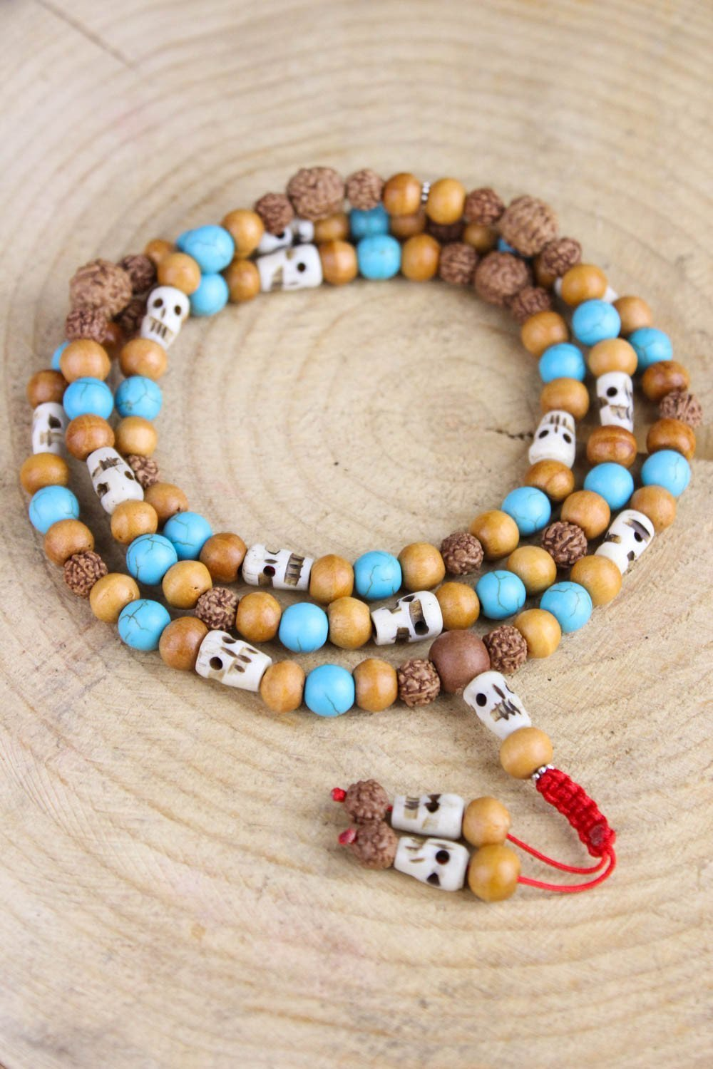 Mala Beads Vipassana Tibetan Impermanence Mala ML498