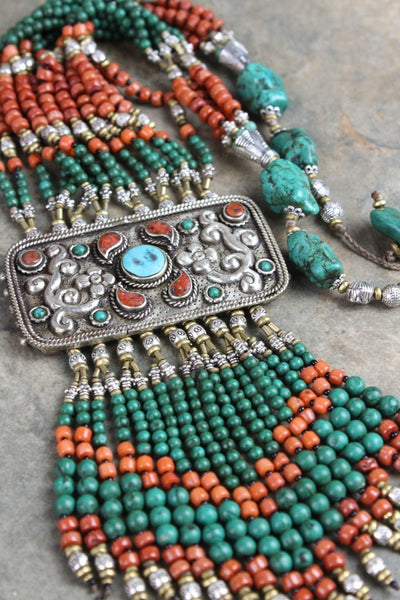 Necklaces Blossoming Dreams of Tibet Necklace JN632