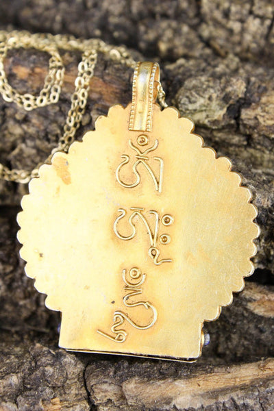 Necklaces Chenrezig Compassion Gau UN059