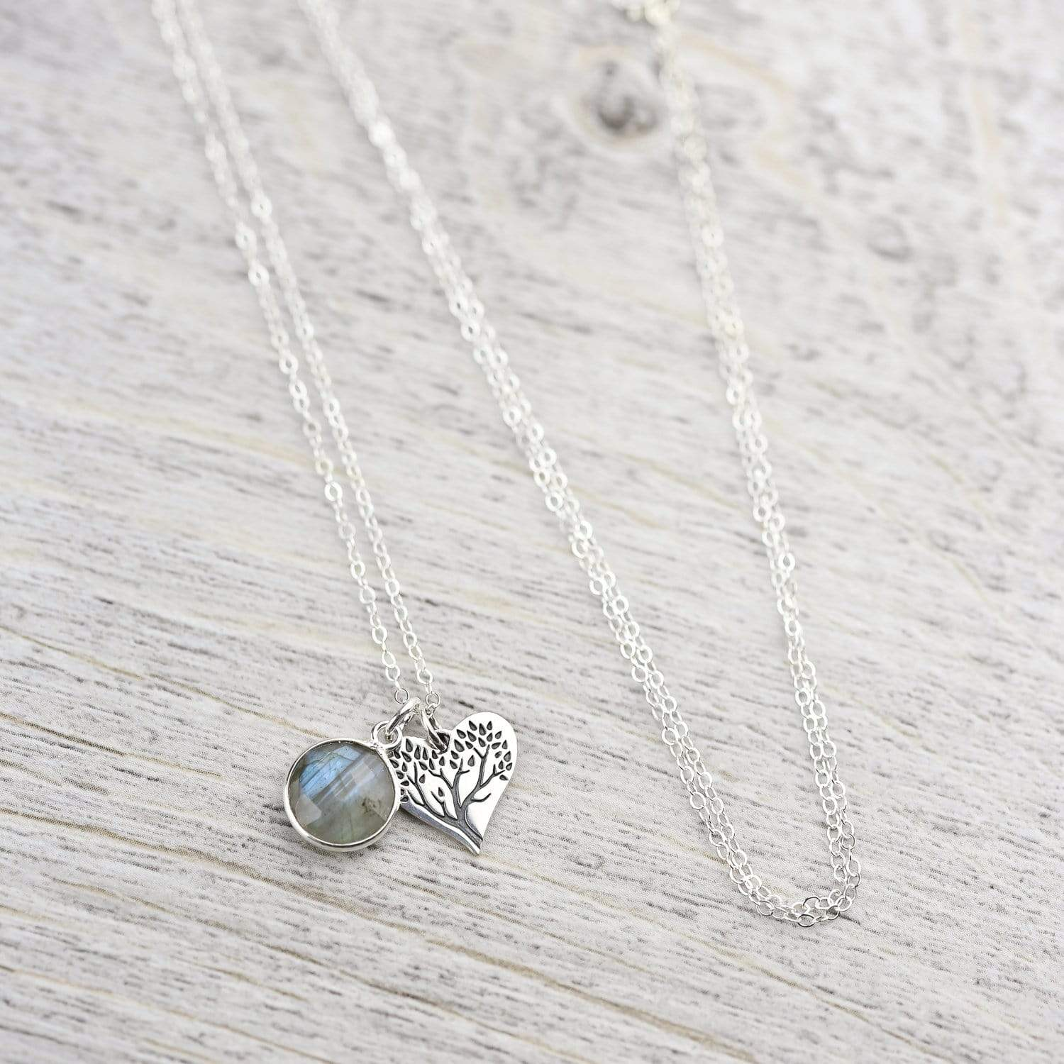 Necklaces Default Open Heart Necklace jn578