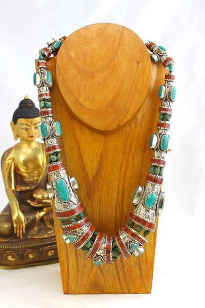 Necklaces Default Otherworldly Tibetan Necklace ttneck5