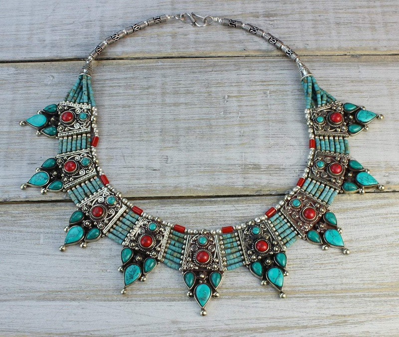 Necklaces Default The Beauty of the Himalayas Necklace jn556