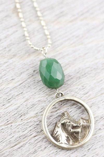 Necklaces Everest Necklace with Aventurine JN805