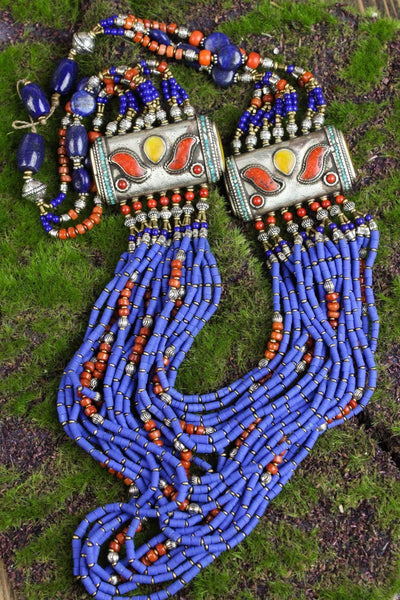 Necklaces Gentle Blessings Tibetan Necklace JN651