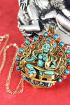 Necklaces Green Tara Thai Vermeil Masterpiece Pendant UN029