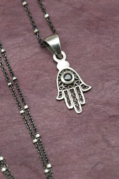 Necklaces Hamsa Charm Necklace JN787