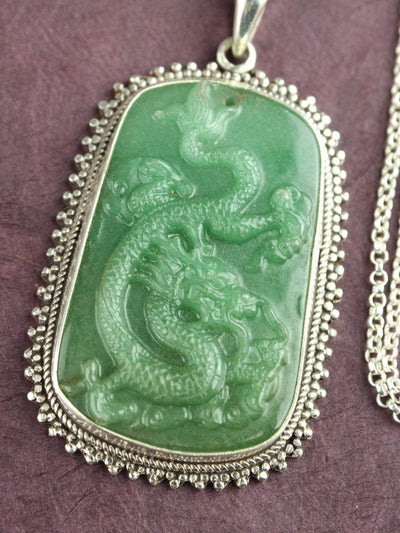 Necklaces Jade Dragon Necklace JN715