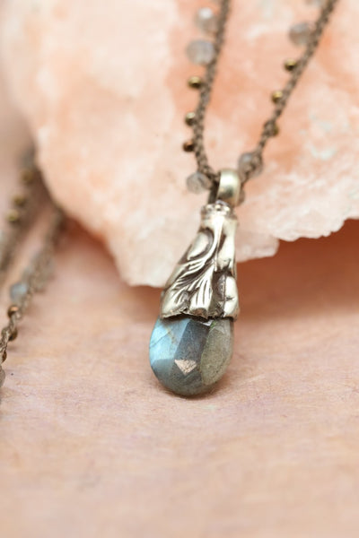 Necklaces Labradorite Creative Energy Necklace JN788