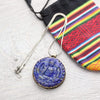 Necklaces Lapis Teaching Buddha Necklace JN781