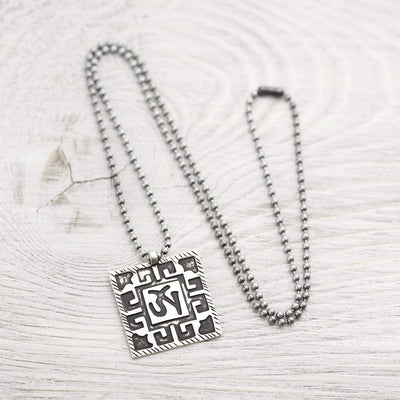 Necklaces Men's Om Vintage-Style Necklace JN791