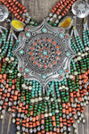 Necklaces Pendulous Beaded Tibetan Necklace JN636